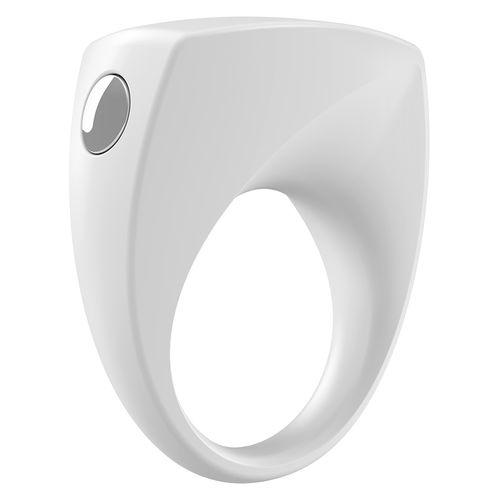 OVO B6 erekční kroužek bílý