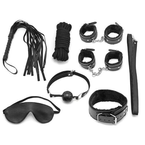BDSM set pro začátečníky (7 pomůcek)