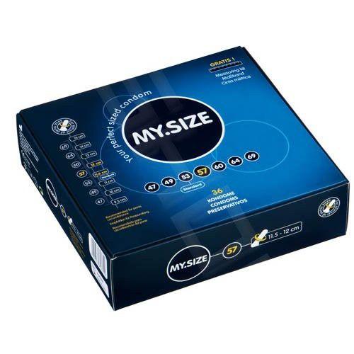 MY SIZE kondom 57 mm