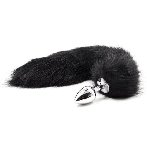Anální kolíček s černým ocáskem