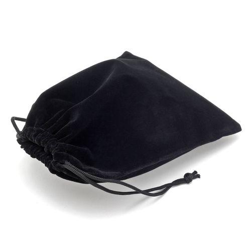 Černý sametový pytlík (15x20 cm)