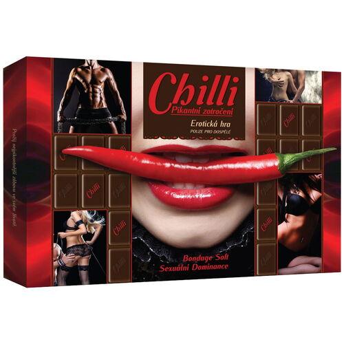 Chilli - erotická karetní hra s úkoly