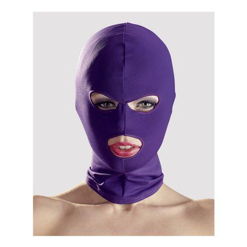 Maska na hlavu s otvory pro oči a ústa