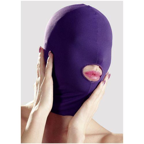 Maska na hlavu s otvorem pro ústa