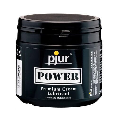 Hybridní krémový lubrikant Pjur Power, 500 ml (vynikající vlastnoti)