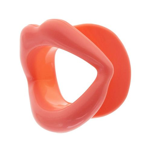 Roubík ve tvaru úst na hluboký orál
