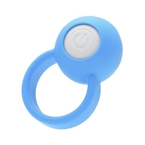 Modrý erekční kroužek Tenga VI-BO Ring Orb