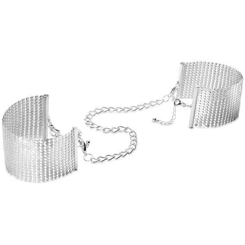 Stříbrné náramky (pouta) Désir Métallique Silver od Bijoux Indiscrets