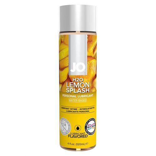 Lubrikant System JO H2O s příchutí citronu (120 ml)