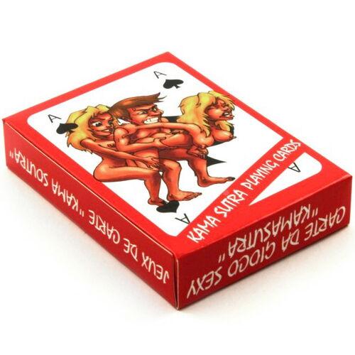 Erotické žolíkové karty Kama Sutra (54 karet)