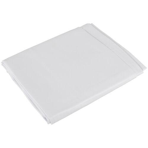Bílé lesklé vinylové prostěradlo Orgy Laken