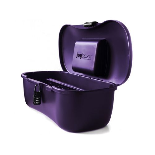 Kufřík na erotické hračky Joyboxx (fialový)