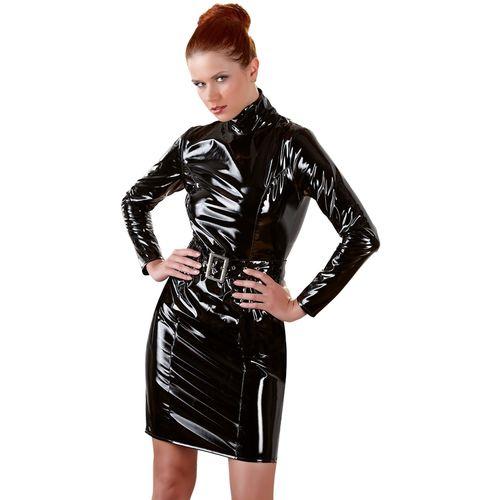 Lakované (lesklé) šaty značky Black Level
