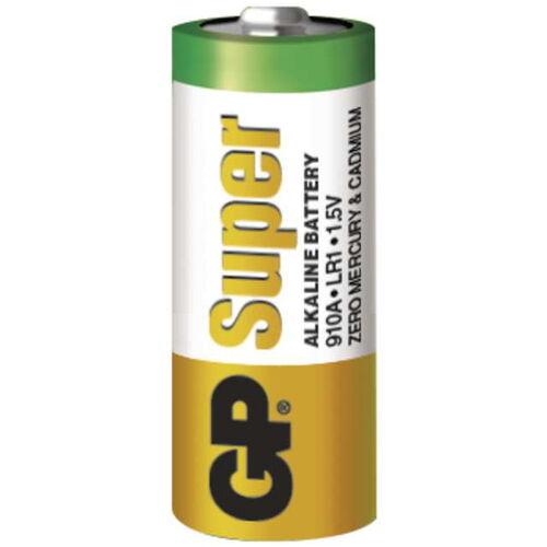 Alkalická baterie LR1 (velikost N) GP Super (větší kapacita)