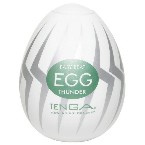 Tenga Egg Thunder - pánský masturbátor