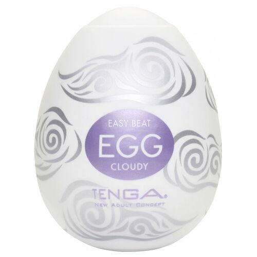 Tenga Egg Cloudy - pánský masturbátor