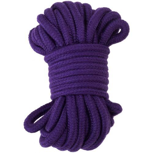 Fialové lano na bondage (20 m)
