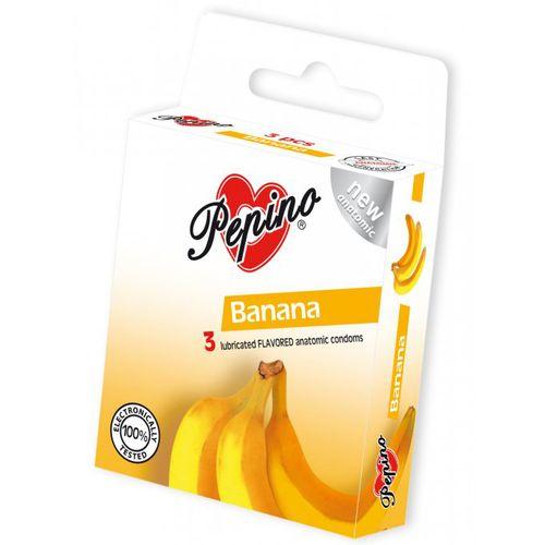 Kondomy Pepino s banánovým aroma (3 ks)