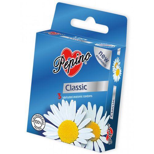 Kondomy Pepino Classic z přírodního latexu (3 ks)