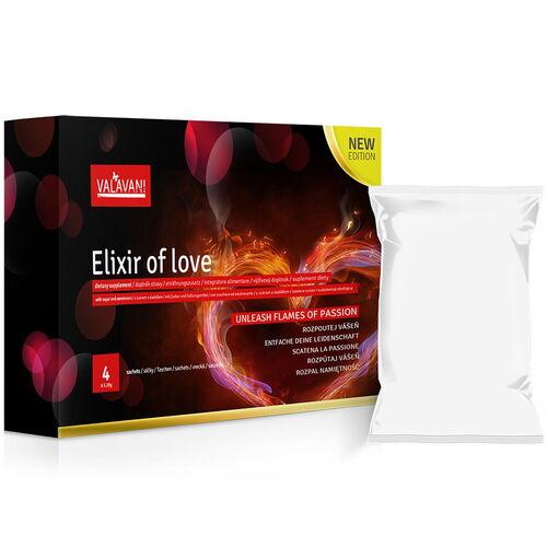 Přírodní afrodiziakum pro muže i ženy ELIXIR OF LOVE