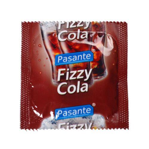 Kondom Pasante Fizzy Cola s příchutí coly (1 ks)