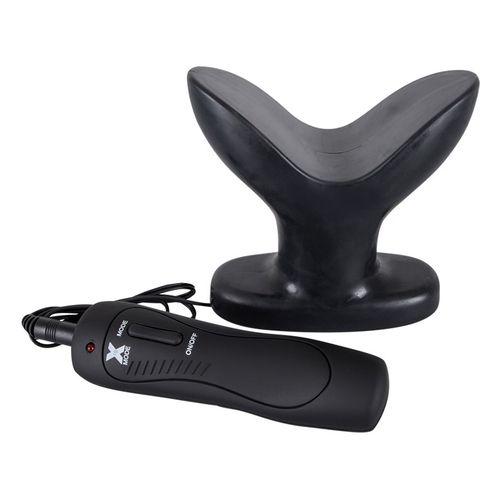 Roztahovací anální vibrační kolík větší velikosti Dark Lotus