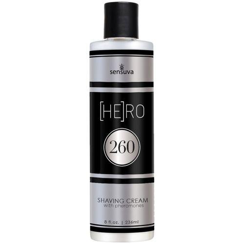 Pánský krém na holení s feromony (HE)RO 260
