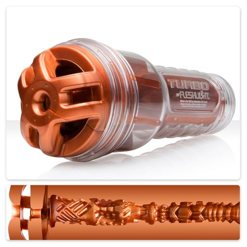 Simulátor orálního sexu TurboTrust Ignition Copper - Fleshlight