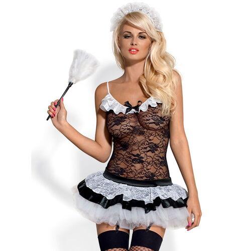 Erotický kostým sexy služebné