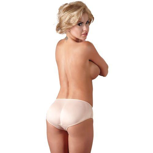 Unisex kalhotky s vymodelovaným zadečkem v tělové barvě