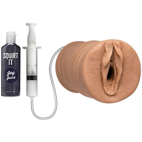 Stříkající umělá vagina Squirt It Pussy