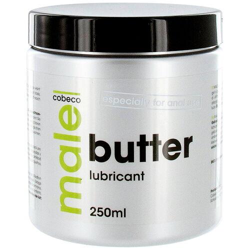 Lubrikační anální gel MALE BUTTER konzistencí připomíná máslo