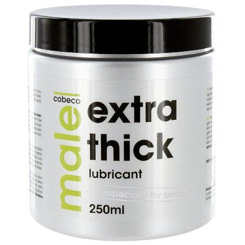 Anální lubrikační gel MALE EXTRA THICK extra hustý (250 ml)