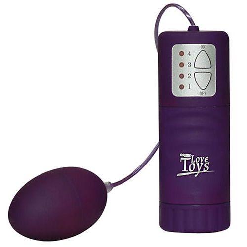 Fialové vibrační vajíčko Love Toys