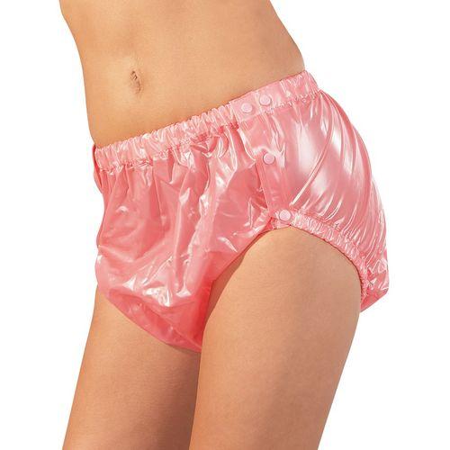 Nepromokavé růžové unisex kalhotky na plenky