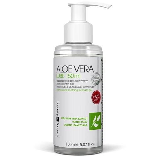 Antibakteriální lubrikační gel ALOE VERA s mentolovou vůní