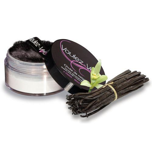 Jedlý tělový pudr Lady Snow s vanilkovou chutí