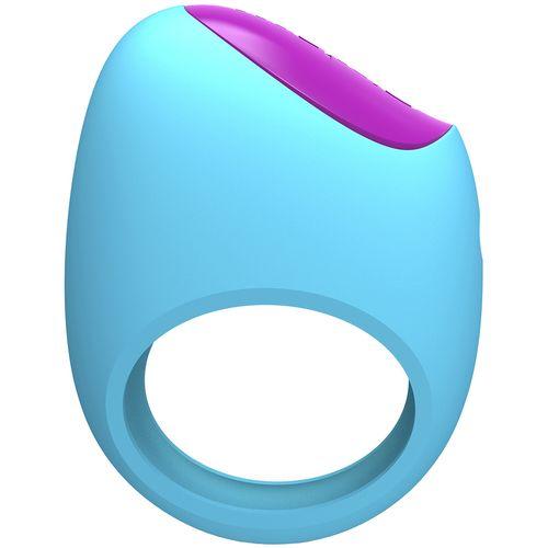 Vibrační erekční kroužek ovládaný chytrým telefonem Lifeguard Ring Vibe