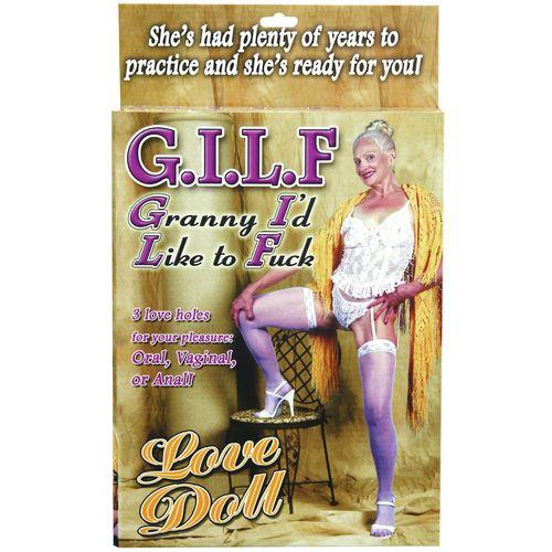 Nafukovací panna starší ženy GILF - Pipedream