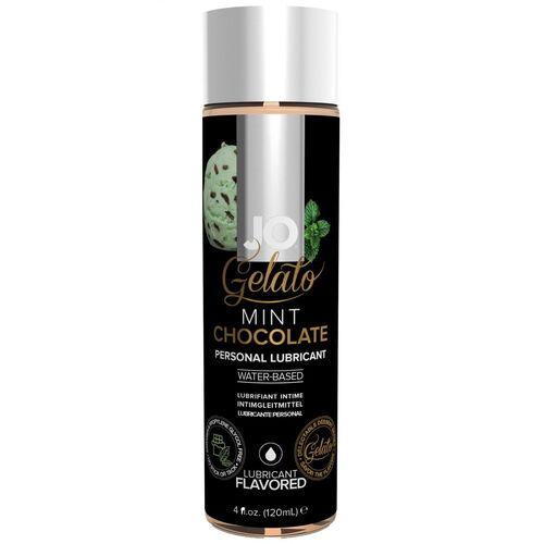 Lubrikant System JO Gelato s příchutí mátové čokolády (120 ml)