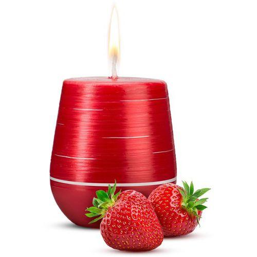 Afrodiziakální luxusní vonná svíčka Sweet Strawberries