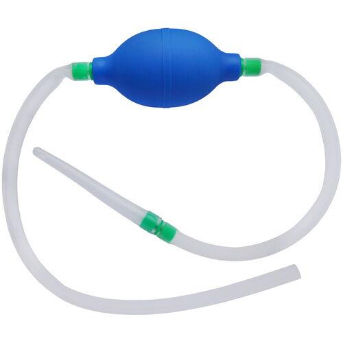 Průtokový silikonový klystýr s balónkem