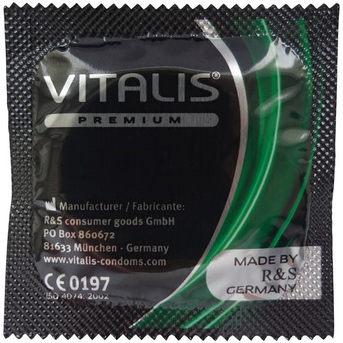 Kondom s aroma jablka Vitalis Apple (1 ks)