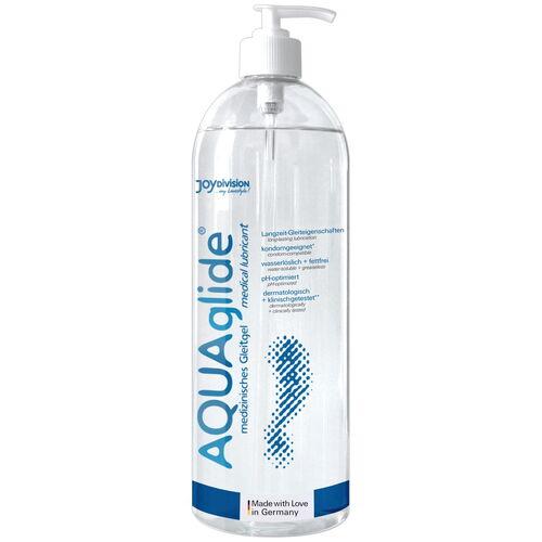 Vodní lubrikační gel AQUAglide ve velkém balení  (1000 ml)