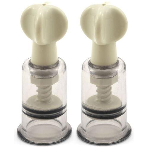 Vakuová pumpička na bradavky a klitoris (sada 2 ks)