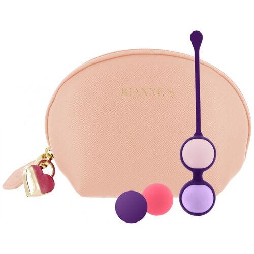 Vaginální činka s vyměnitelnými kuličkami Pussy Playballs včetně taštičky