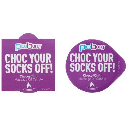 Masážní svíčka PicoBong Choco & Chili (15 ml)