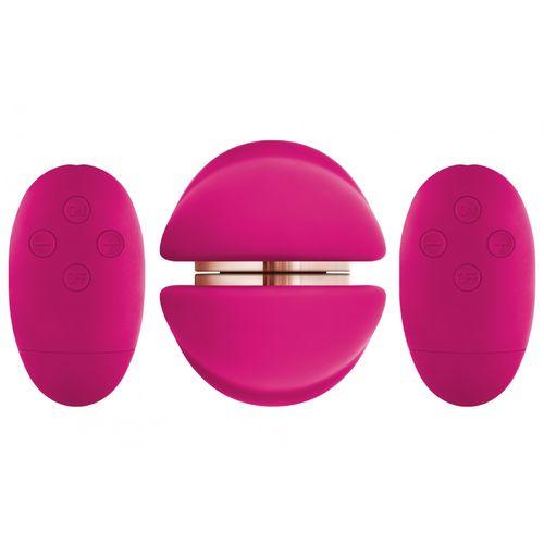 Vibrační stimulátor klitorisu pro lesbičky Shi/Shi Union