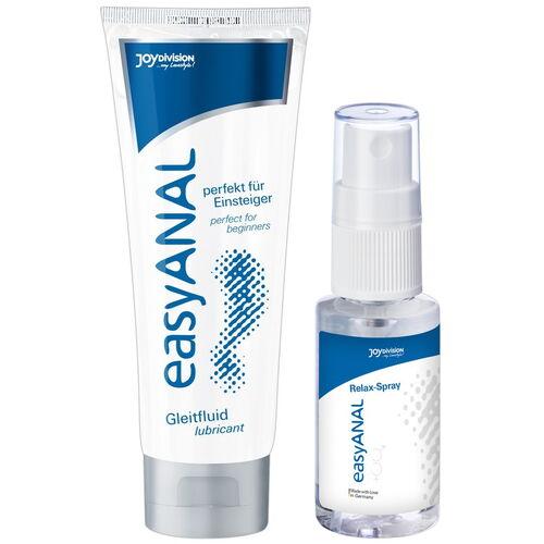Sada análního lubrikačního gelu a relaxačního spreje easyANAL