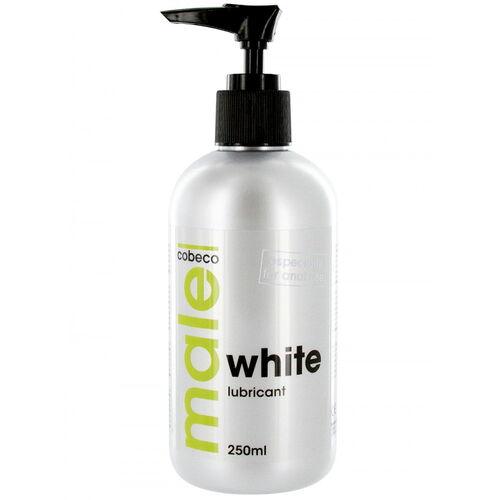 Bílý extra hustý lubrikační gel MALE WHITE